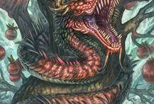 Dragões Adark / Dragões insanos para seu Rpg!