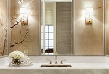 Bathrooms / by Because I like to decorate