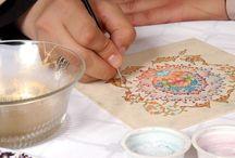 porcelain painting / by Varsha Vikamsey