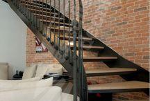 escalier arrondi