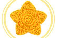 ESTRELLAS DE CROCHET / Patrones gratuitos paso a paso para tejer estrellas de crochet o ganchillo, 100% en español.