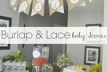 Burlap & Lace Themed Party