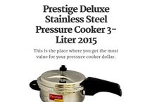 Stainless Steel Pressure Cookers 2015