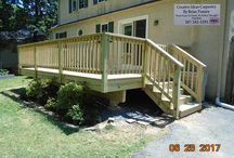Other Decks And Structures / These are other decks and other exterior projects that Creative Ideas Carpentry By Brian Tenney has done.