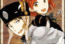 Shirayuki & Obi