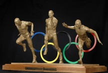 Sports Sculptures by Richard Stravitz / Richard Stravitz not only captures the movement and the detail of every muscle in his sports sculptures - he captures intensity, dedication, and passion.