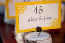 Ideas for Bridget's Wedding