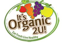 It's Organic 2U / Fresh, Organic Fruits & Vegetables Delivered To Your Home or Office in DFW & beyond!