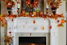 Fireplace decor all seasons
