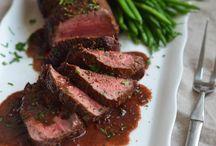 Beef tenderloin redwine