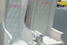 Throne Chairs / Available for rent! Great for weddings, baby showers or any special event!
