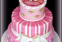 torta battesimo bimba