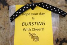 Cheer Big/Little Reveals / Fun craft and bonding ideas for cheer squads' bigs and littles