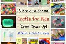 Back to School / Crafts and gear for back to school