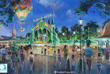 Themepark Concept & renderings
