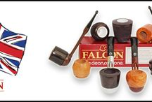 Falcon Classic Briar Smoking pipes / Falcon pipes are best known for there 100's of different stem, bowl & mouthpiece combinations to create your perfect pipe. One of the many benefits to owning a falcon pipe is the fact you can have 2 or 3 interchangeable bowls whilst using only the one stem, which allows you to smoke different tobaccos in different bowls and allows the briar to rest between smokes. The Falcon pipe is easy going on the pocket too but guarantees to deliver a top quality smoke every time.