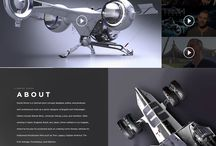site inspire * grids / Webdesign