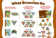 Brownie badges,  etc / by Susan Robinson