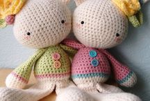 Crochet toys / Wool Friends love to see crochet friends made by others designers