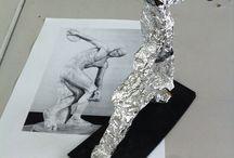 Cert 3 Material Sculpture