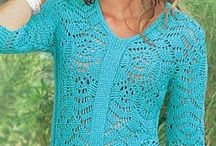 sweater dos agujas lll / by clara martinez