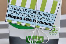 Big number birthdays