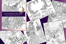 Halloween by Simi / My halloween themed coloring book :) and Halloween themed t-shirts!   Book: www.amazon.com/dp/1537508563/ PDF: https://gum.co/halloweenbysimi    T-shirts & other cool stuff: www.tee.pub/lic/simiraghavan www.redbubble.com/people/simiraghavan