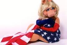 Miss Piggy / by Claudia Haffner