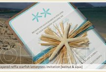 Starfish Event Theme / Beach-side gatherings are SUPER fun to plan and coordinate!  Here are some found treasures!
