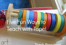 Tape activities