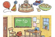 Our illustrations - Education / Various commisions from educational publishers, enjoy.
