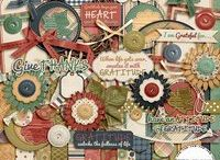 Scrapbooking Digital Kits / Love finding kits that work perfectly with my theme/pics.