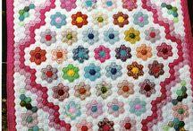 hexagon quilts / quilten