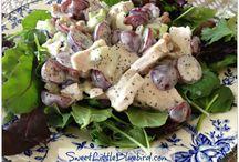 Chicken salad / by Connie Burgdorf