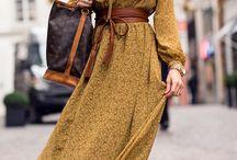 midi/maxi winter dresses