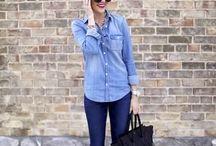 Inspirações / Looks que amamos e mostram toda a versatilidade do jeans.