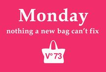 Inspirational quotes / Bags are not only beautiful but also a source of inspiration