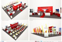 REGIONE PIEMONTE - Render Project / Custom booth project for Regione Piemonte; BIT Milan