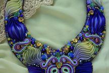 Soutache embroider-Shibori ribbon