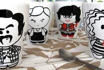 Gatofante at Home / Mugs, bags...