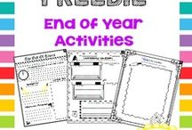 End of the year activities / by Amy Lippincott Maute