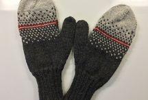Handsker luffer mittens