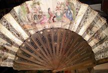 Hand fans.évantails.βεντάλιες