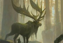 Deer Girl Mood Board