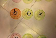 Light box activities
