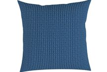 Navy Light Blue (Pillow)