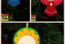 Natale Ornamenti con angeli