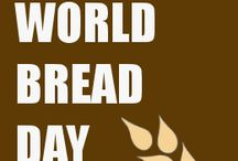 World Bread Day 2014 #wbd2014 / October 16 is World Bread Day! Since 2006 every year hundreds of bloggers from all around the world baked bread for this special day. So let's do it again: Bake a loaf of bread for World Bread Day and pin it!