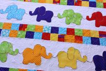 baby quilts / elephant quilts