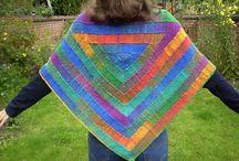 Stola's breien / Shawls Knitting